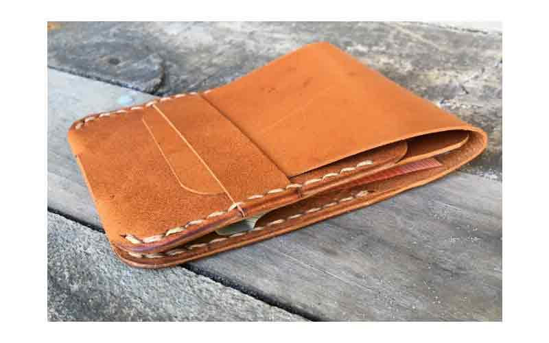 Leather Wallet In Beed